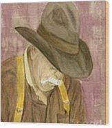 Walter Wood Print by Regan J Smith