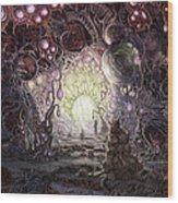 Wanderer Wood Print by Mark Cooper