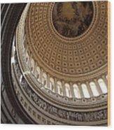 Washington Dc - Us Capitol - 011315 Wood Print by DC Photographer