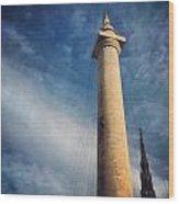 Washington Monument Wood Print by Toni Martsoukos