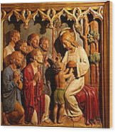 Washington National Cathedral - Washington Dc - 011329 Wood Print by DC Photographer