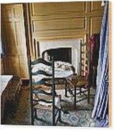 Washington Slept Here Wood Print by Olivier Le Queinec