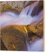 Waters Of Zion Wood Print by Adam Romanowicz