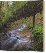 West Humbug Creek Wood Print by Everet Regal