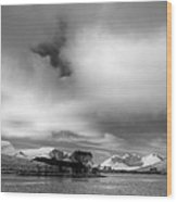 Wester Ross Winter  Wood Print by Derek Beattie