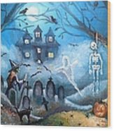 When October Comes Wood Print by Shana Rowe Jackson
