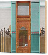 When One Door Closes Wood Print by Christine Till
