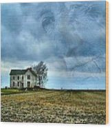 Where His Memories Were Made Wood Print by Julie Dant