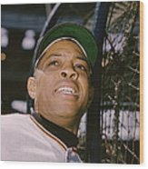 Willie Mays  Wood Print by Retro Images Archive