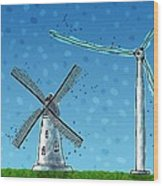 Wind Blows Wood Print by Gianfranco Weiss