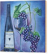 Wine Dance Wood Print by Ruben Archuleta - Art Gallery