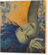 Within Temptation Wood Print by Dorina  Costras