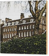 Yeoman Warders Quarters Wood Print by Christi Kraft