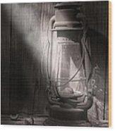 Yesterday's Light Wood Print by Tom Mc Nemar
