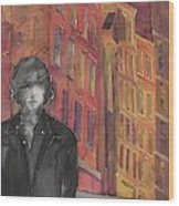 Z And The City 2 Wood Print by Carolyn Doe