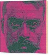 Zapata Intenso Wood Print by Roberto Valdes Sanchez