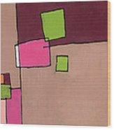 Zipless Wood Print by Douglas Simonson