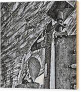 Boat Propeller Wood Print by Stelios Kleanthous