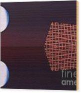 Planet Eye Wood Print by Odon Czintos