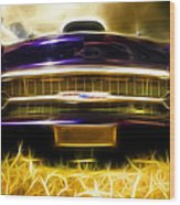 1957 Chevrolet Bel Air Wood Print by Phil 'motography' Clark