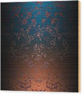 Beyond Lava Lamps Wood Print by Christopher Gaston