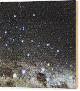 Centaurus And Crux Constellations Wood Print by Eckhard Slawik