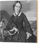 Charlotte BrontË Wood Print by Granger