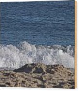 Crashing Waves Wood Print by Jamie Diamond