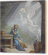 DorÉ: The Annunciation Wood Print by Granger