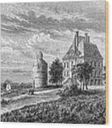 France: Wine ChÂteau, 1868 Wood Print by Granger