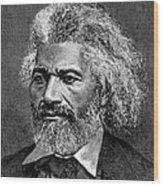 Frederick Douglass Ca. 1817-1895 Wood Print by Everett