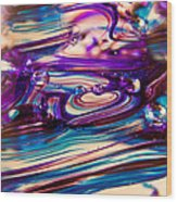 Glass Macro II Wood Print by David Patterson