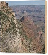 Grand Canyon National Park Arizona Usa Wood Print by Audrey Campion