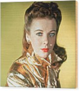 Ida Lupino Wood Print by Everett