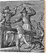 Ireland: Cruelties, C1600 Wood Print by Granger