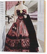 Jezebel, Bette Davis, 1938 Wood Print by Everett