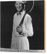 Maurice Chevalier, Ca. Early 1930s Wood Print by Everett