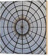 Milan Galleria Vittorio Emanuele II Wood Print by Joana Kruse