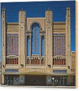 Movie Theaters, Missouri Theater Wood Print by Everett