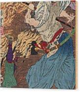 Oda Nobunaga (1534-1582) Wood Print by Granger
