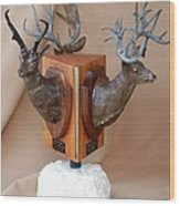 Texas Trophies Wood Print by J P Childress