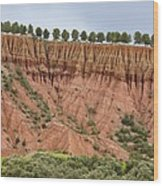 The Imlil Valley, Morocco Wood Print by Bob Gibbons
