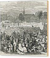 Washington: Abolition, 1866 Wood Print by Granger