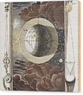 1731 Johann Scheuchzer Creation 4th Day B Wood Print by Paul D Stewart