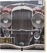 1933 Duesenberg Model J - D008167 Wood Print by Daniel Dempster