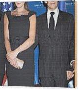 Carla Bruni Sarkozy, Nicolas Sarkozy Wood Print by Everett