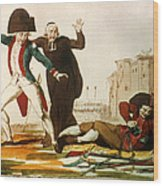 French Revolution, 1792 Wood Print by Granger