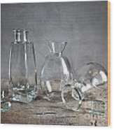 Glass Wood Print by Nailia Schwarz