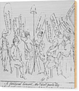 `treaty Of Paris, 1783 Wood Print by Granger