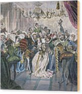 Perrault: Cinderella, 1867 Wood Print by Granger